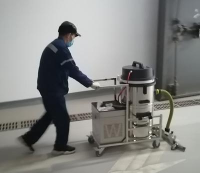 小型手推式工业吸尘车
